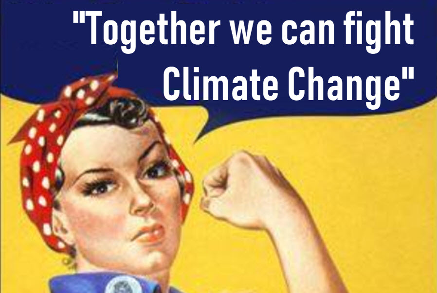 Together we can fight climate change
